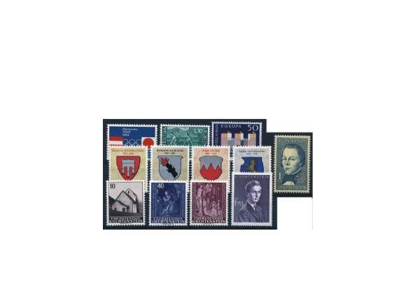 Liechtenstein Jahrgang 1964 postfrisch