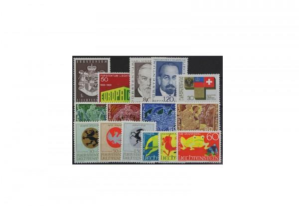 Liechtenstein Jahrgang 1969 postfrisch