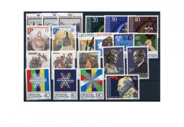Liechtenstein Jahrgang 1983 postfrisch