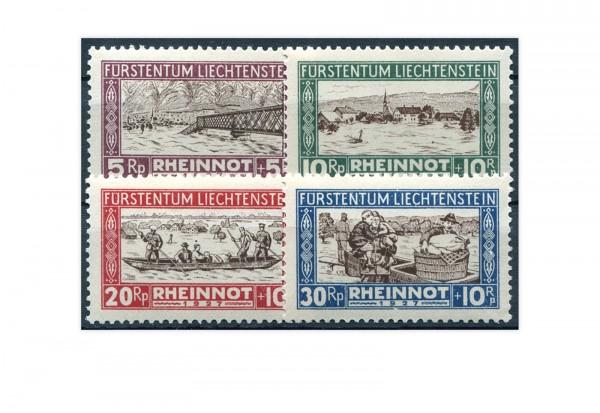 Liechtenstein Mi.Nr. 78/81 gest.