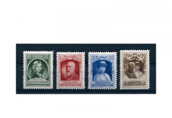 Liechtenstein Mi.Nr. 90/93 gest.
