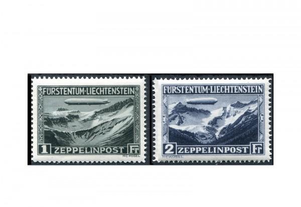 Liechtenstein Mi.Nr. 114/115 gest.