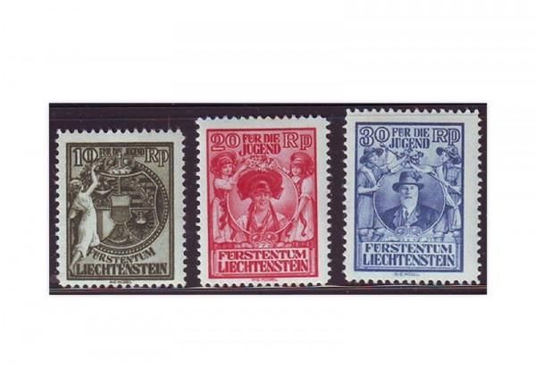 Liechtenstein Mi.Nr. 116/118 gest.