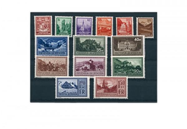 Liechtenstein Mi.Nr. 126/139 gest.