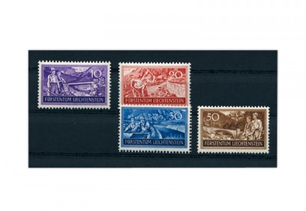 Liechtenstein Mi.Nr. 152/55 gest.