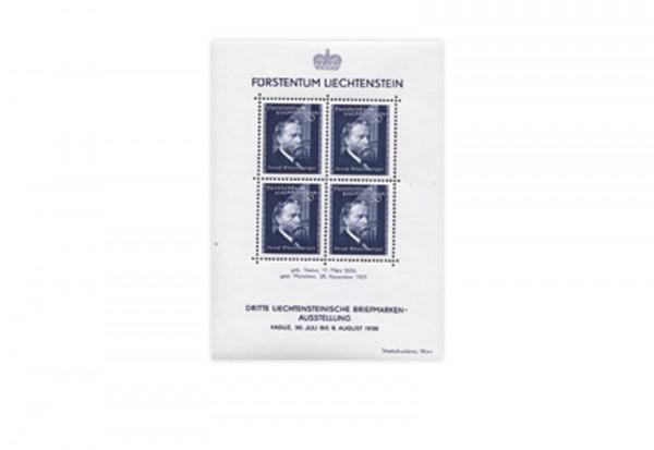 Liechtenstein Block 3 gestempelt 1936