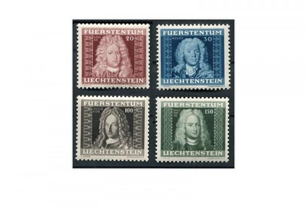 Liechtenstein Mi.Nr. 198/201 gest.