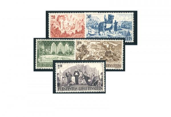 Liechtenstein Mi.Nr. 202/206 gest.