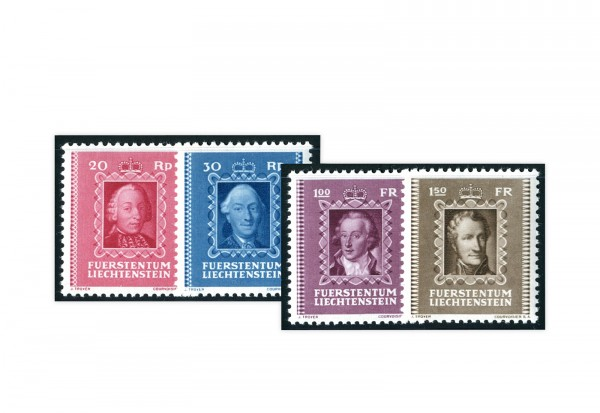 Liechtenstein Mi.Nr. 207/10 gest.