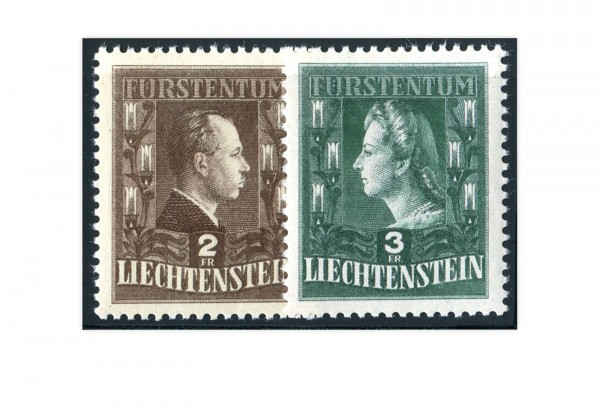 Liechtenstein Mi.Nr. 238/39 gest.
