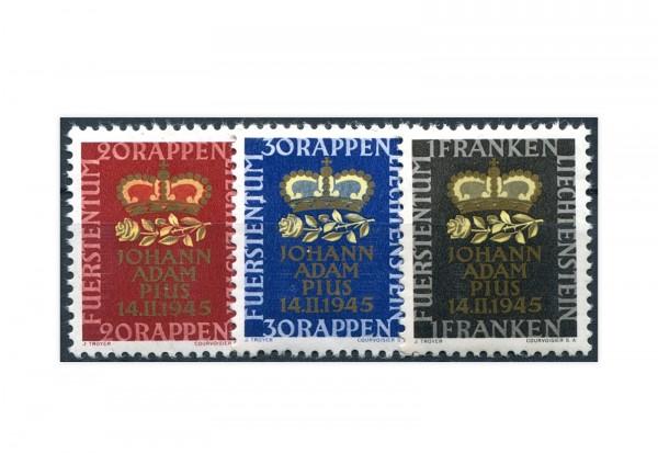 Liechtenstein Mi.Nr. 240/42 gest.