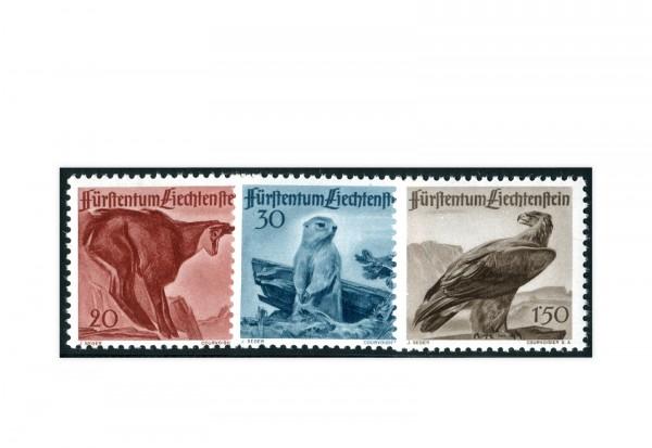 Liechtenstein Mi.Nr. 253/55 gest.