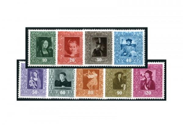 Liechtenstein Mi.Nr. 268/76 gest.