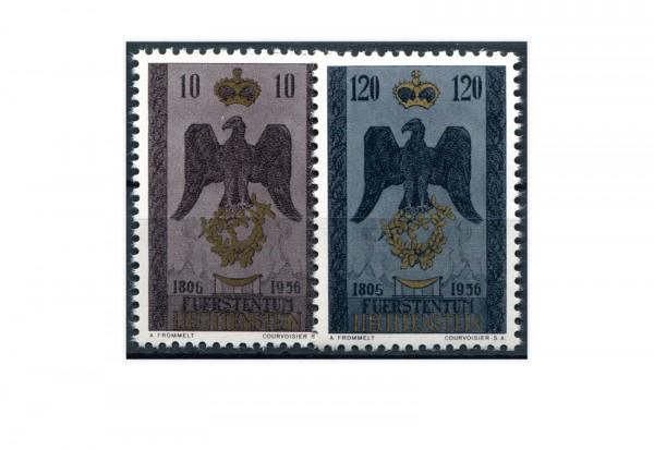 Liechtenstein Mi.Nr. 346/47 gest.