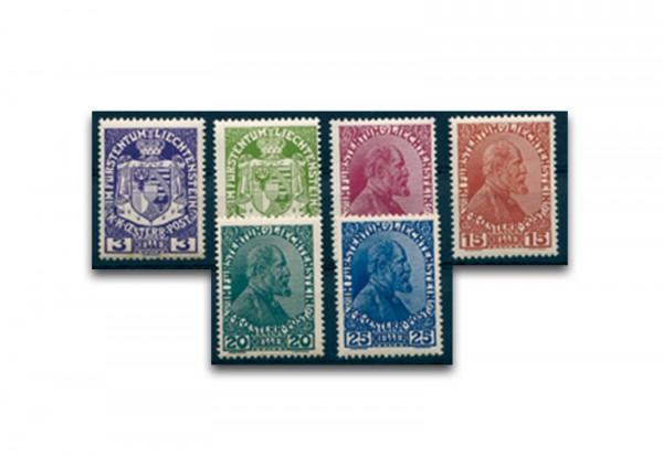 Liechtenstein Jahrgang 1940 gestempelt