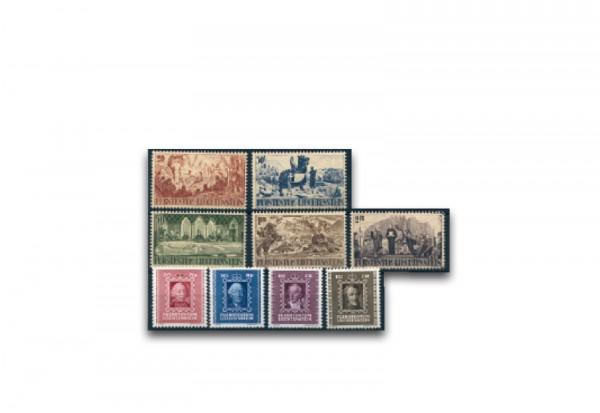 Liechtenstein Jahrgang 1942 gestempelt