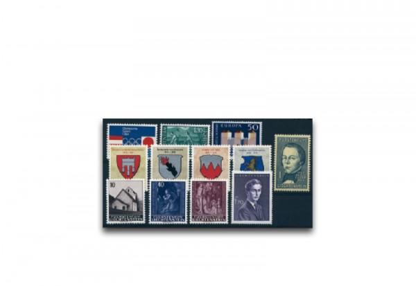Liechtenstein Jahrgang 1964 gestempelt