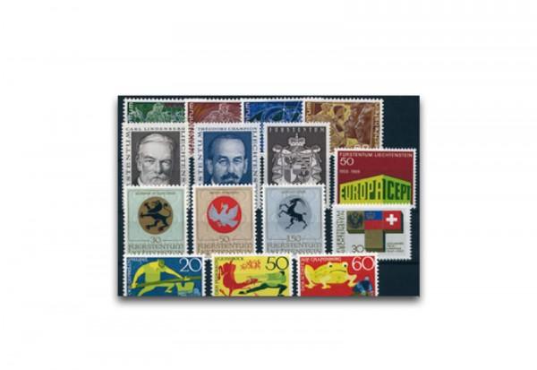 Liechtenstein Jahrgang 1969 gestempelt