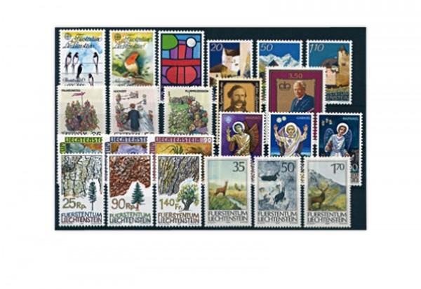 Liechtenstein Jahrgang 1986 gestempelt