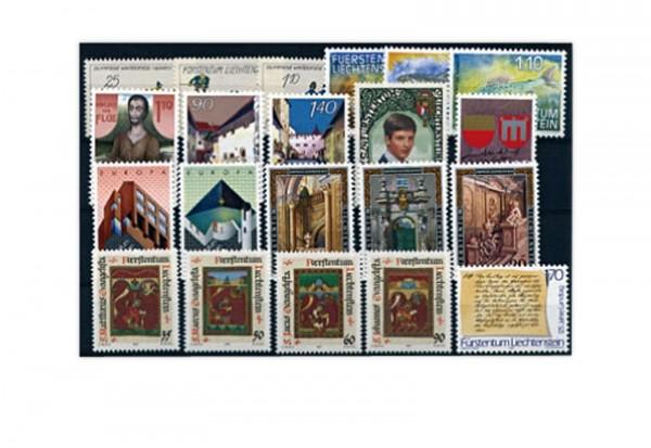 Liechtenstein Jahrgang 1987 gestempelt