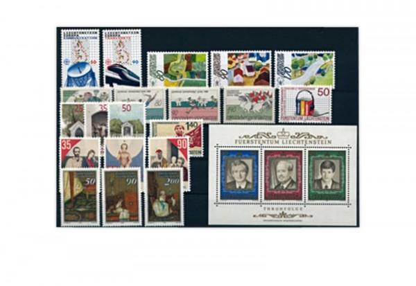 Liechtenstein Jahrgang 1988 gestempelt