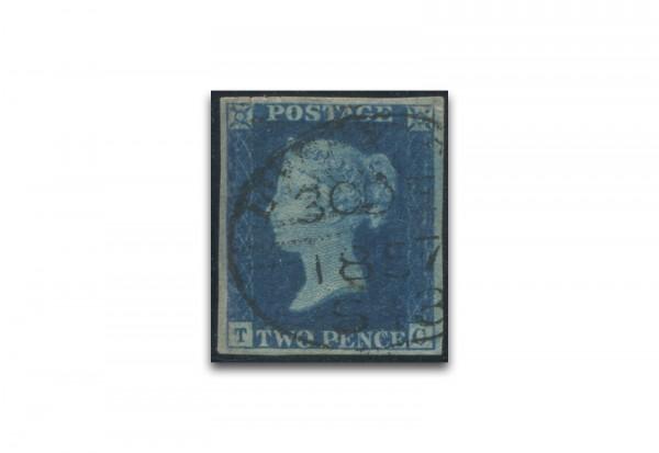 Briefmarke Großbritannien Freimarke 1840 Michel-Nr. 2 gestempelt