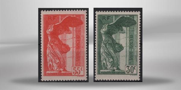 Frankreich National Museen 1937 Mi.Nr. 359-360 **