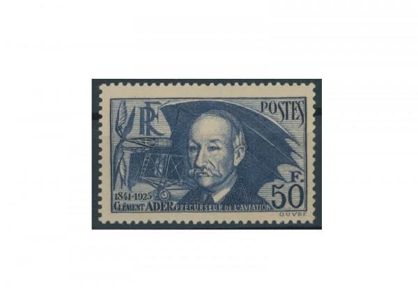 Briefmarke Frankreich Clément Ader 1938 Michel-Nr. 425 postfrisch