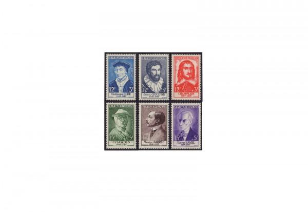 Frankreich Persönlichkeiten 1959 Michel Nr. 1094 bis 1099 postfrisch