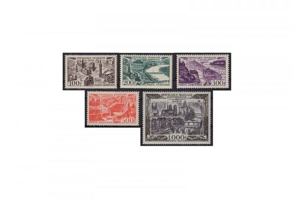 Briefmarken Frankreich Republik 1870 bis heute Michel-Nr. 861 bis 865 postfrisch