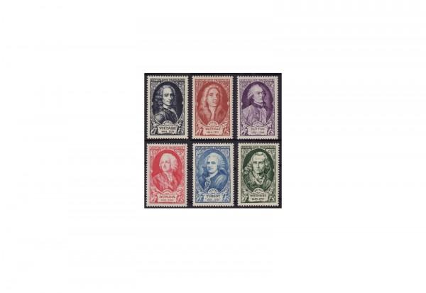 Frankreich Republik 1870 bis heute Michel Nr. 871 bis 876 gestempelt