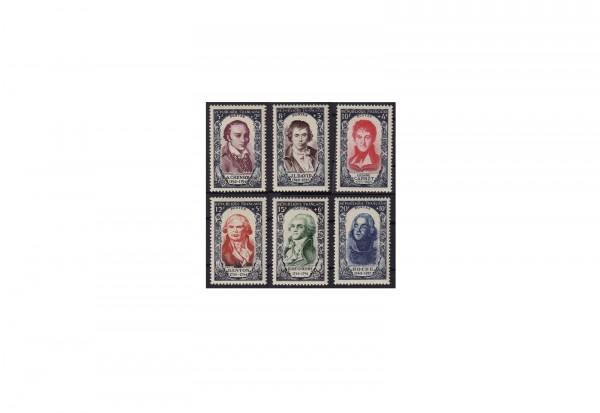 Briefmarken Frankreich Republik 1870 bis heute Michel-Nr. 885 bis 890 postfrisch