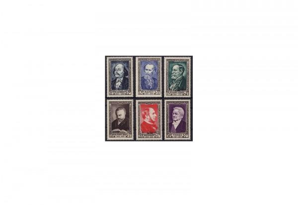 Frankreich Republik 1870 bis heute Michel Nr. 948 bis 953 postfrisch
