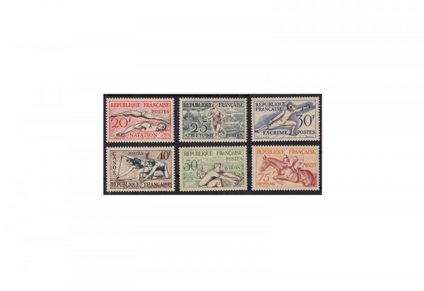 Frankreich Republik 1870 bis heute Michel Nr. 978 bis 983 postfrisch
