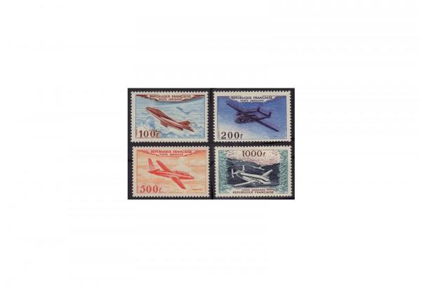 Frankreich Republik 1870 bis heute Michel Nr. 987 bis 990 postfrisch