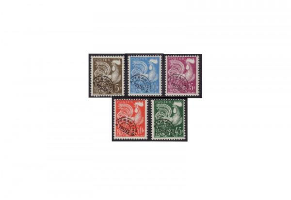 Frankreich Vorausentwertungen Michel Nr. 1150 bis 1154 postfrisch
