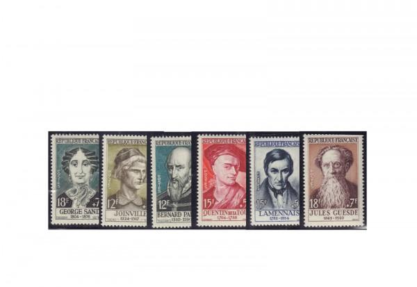 Frankreich Michel-Nr. 1136/1141 postfrisch Republik 1870 bis heute
