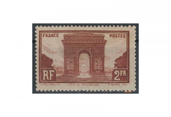 Briefmarke Frankreich Bauwerke 1931 Michel-Nr. 263 postfrisch