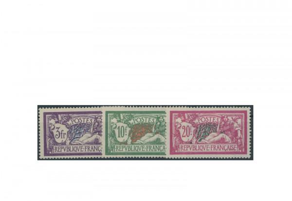 Briefmarken Frankreich 1925 Michel-Nr. 181/83 postfrisch