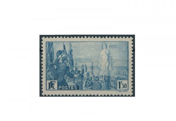 Briefmarke Frankreich Internationale Friedensvereinigung 1936 Michel-Nr. 334 postfrisch
