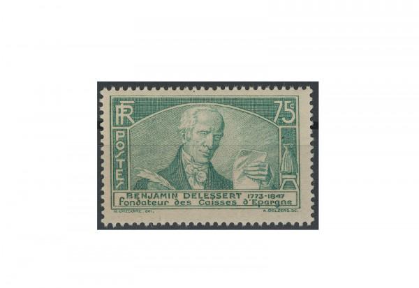 Briefmarke Frankreich Internationaler Sparkassenkongress 1935 Michel-Nr. 299 postfrisch