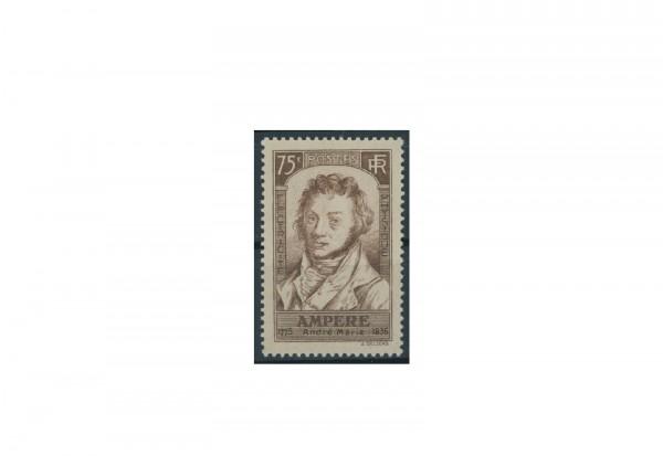 Briefmarke Frankreich 100. Todestag von André Marie Ampère 1936 Michel-Nr. 313 postfrisch