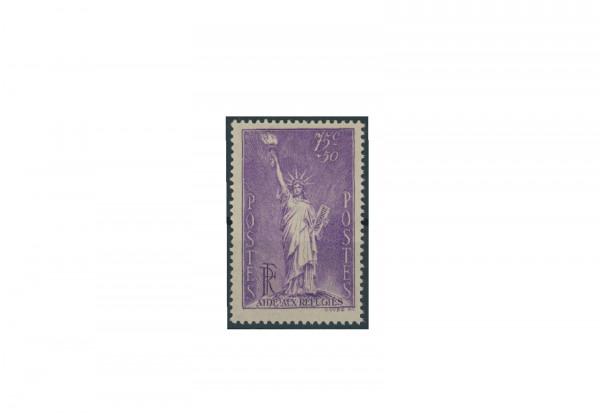 Briefmarke Frankreich Flüchtlingshilfe 1936 Michel-Nr. 312 postfrisch