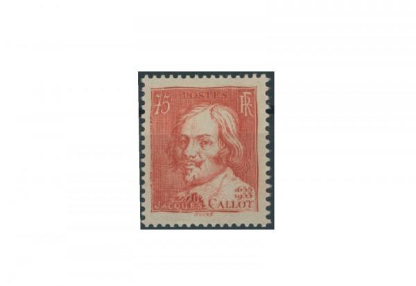 Briefmarke Frankreich 300. Todestag von Jacques Callot 1935 Michel-Nr. 302 postfrisch