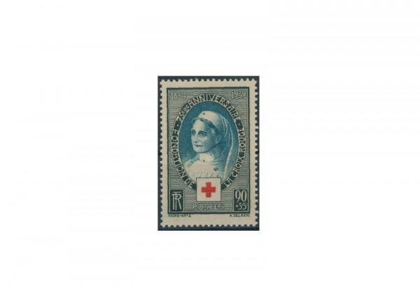 Briefmarke Frankreich 75 Jahre Rotes Kreuz 1939 Michel-Nr. 440 postfrisch