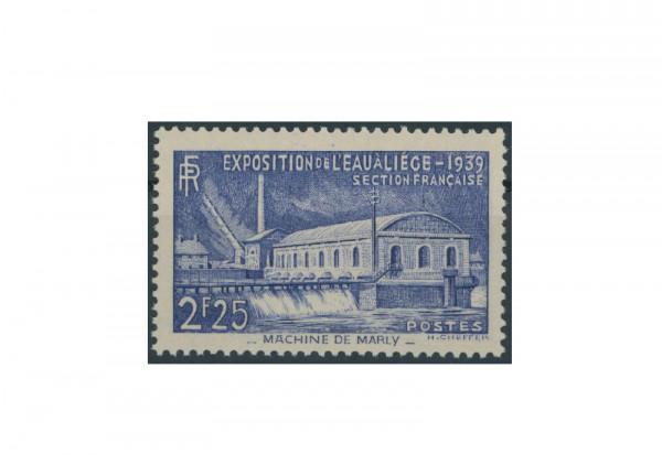 Briefmarke Frankreich Ausstellung des Wassers 1939 Michel-Nr. 449 postfrisch