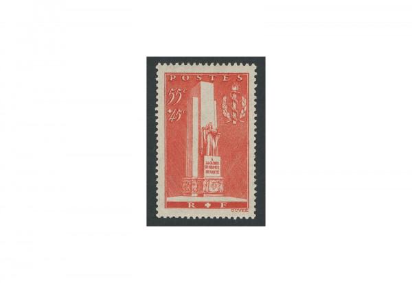 Briefmarke Frankreich Sanitätsdienst 1938 Michel-Nr. 426 postfrisch