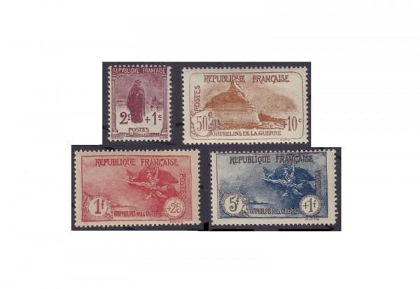 Briefmarken Frankreich Republik 1870 bis heute Michel-Nr. 211/214 Falz