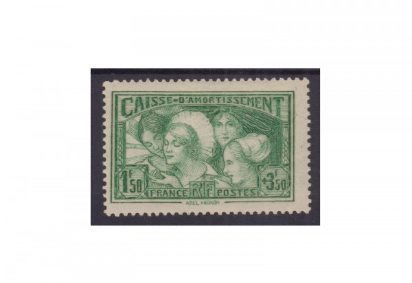 Briefmarke Frankreich Republik 1870 bis heute Michel-Nr. 261 Falz