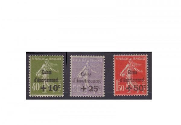 Briefmarken Frankreich Republik 1870 bis heute Michel-Nr. 264/266 Falz